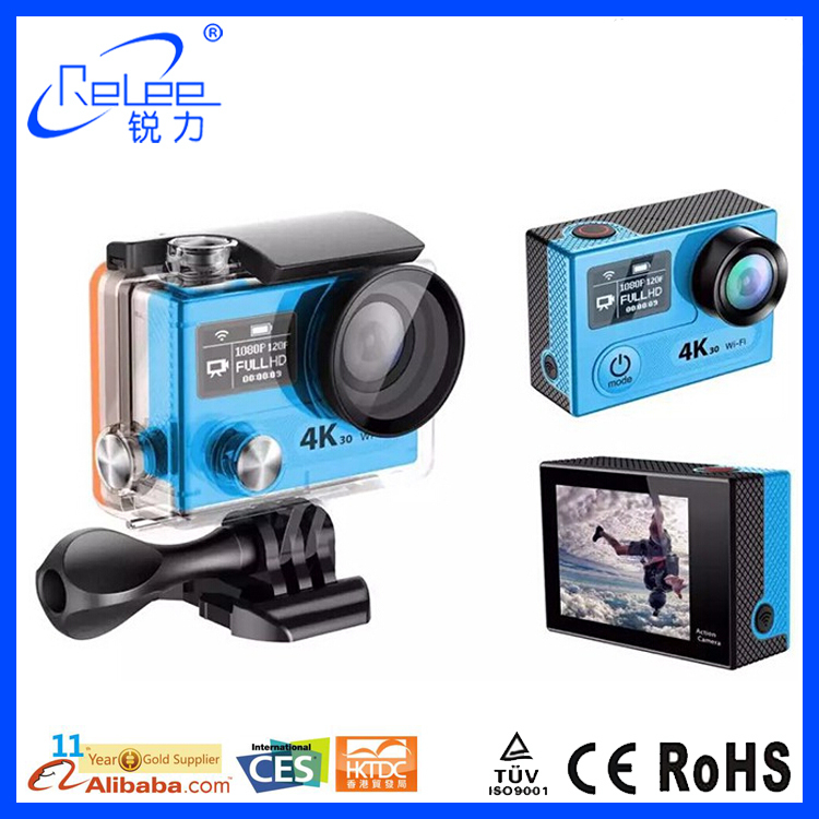 New producr 2016 Amba A12 Chipset 4k@30fps Real yi 4k action video camera