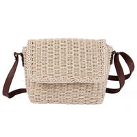 Best quality women beautiful supplier beach tote straw bags