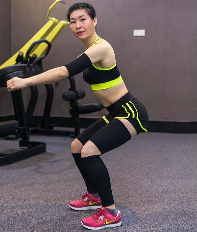 Sweat Neoprene Slim Leg Calf 10