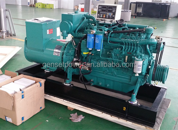 Shandong 20kva to 100kva Ship Automatic Marine Diesel Generator with Deutz engine
