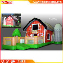 Professional inflatable the barn bouncer for sale
