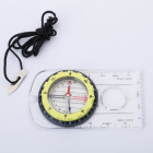 Tilt angle slope map measure compass with magnifier glass for outdoor hiking sports