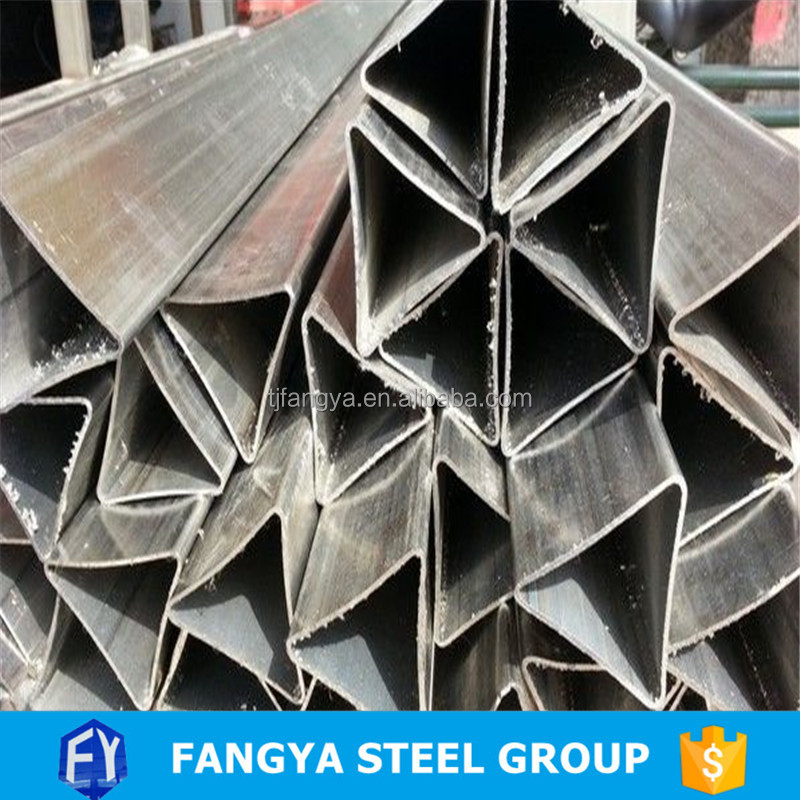 16.7x16.7x16.7mm Triangle shape carbon steel tube/Profile