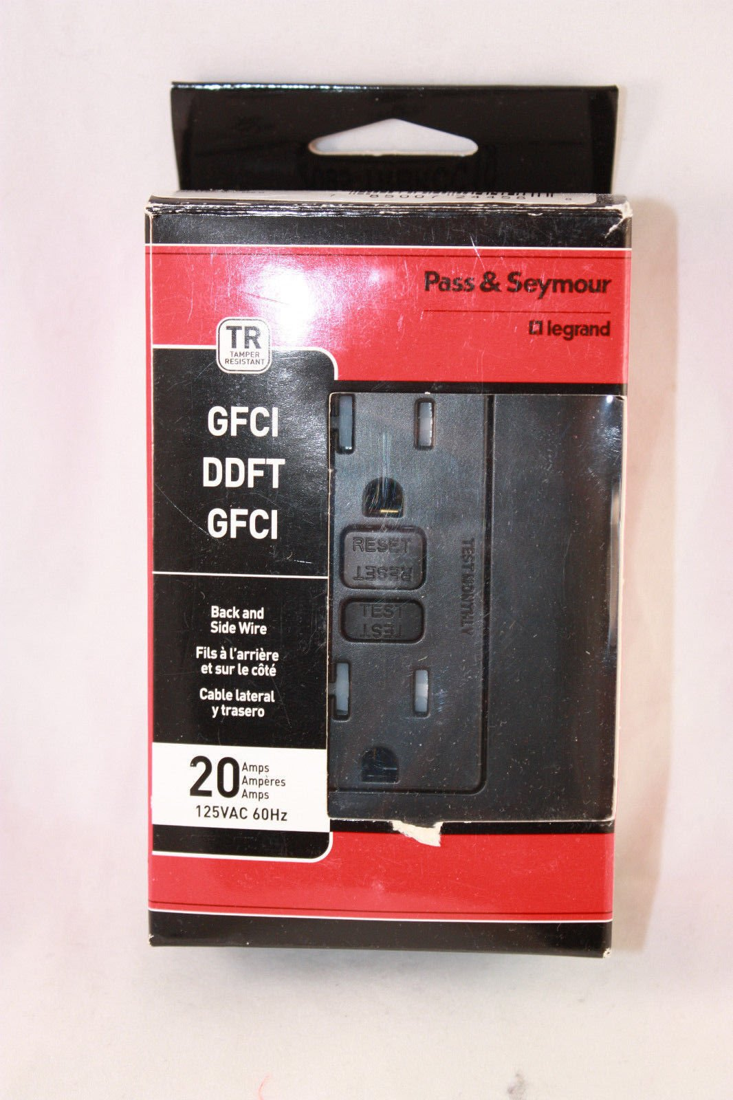 Buy Pass & Seymour GFCI Black 20 amp outlet in Cheap Price on ...