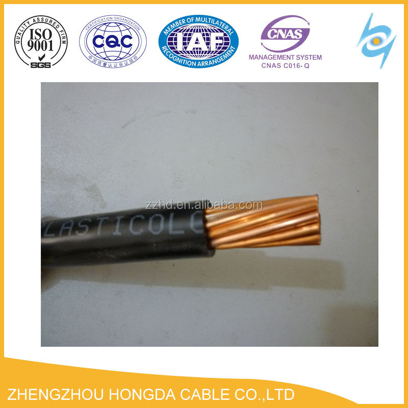 2awg wire PVC insulated wire