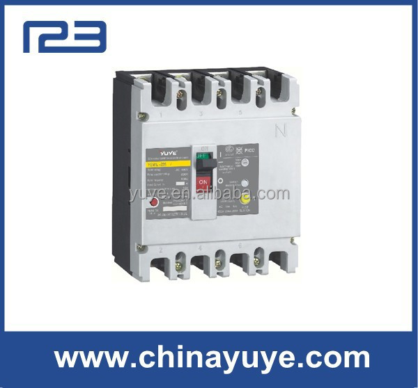 MCB Moulded 20kv earth leakage circuit breaker