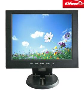 "Small size 10"" flat screen/10 inch lcd tv monitor 4:3 monitor 10.4 rack mount monitor"