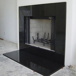 Stone Granite Tile Fireplace Hearth