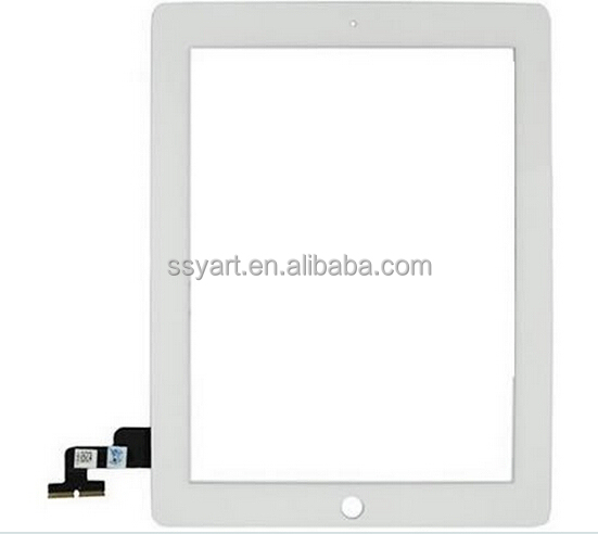 5pcs/lot 100% High quality Touch Panel Display Touch Screen Glass Digitizer + 3M Adhesive+ free tools for apple iPad 2