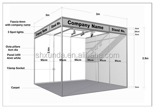 Exhibition Booth Shell Scheme : Exhibition shell scheme booth buy