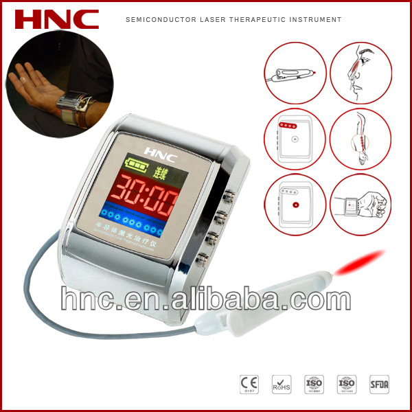 650nm infrared light therapy low level laser treat hypertension diabetic at home blood circulation model