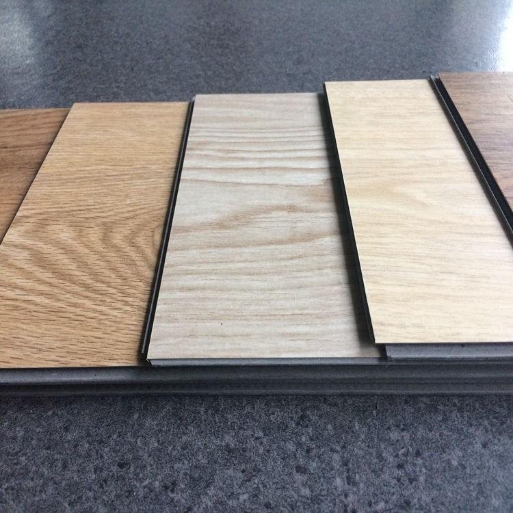 4mm Virgin Pvc Wood Look Click Together Vinyl Floor Tiles