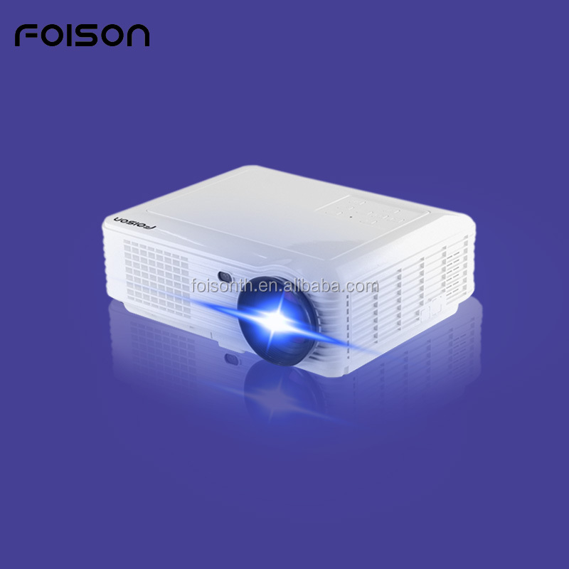 LED style high lumens short focus throw android cinema video projector