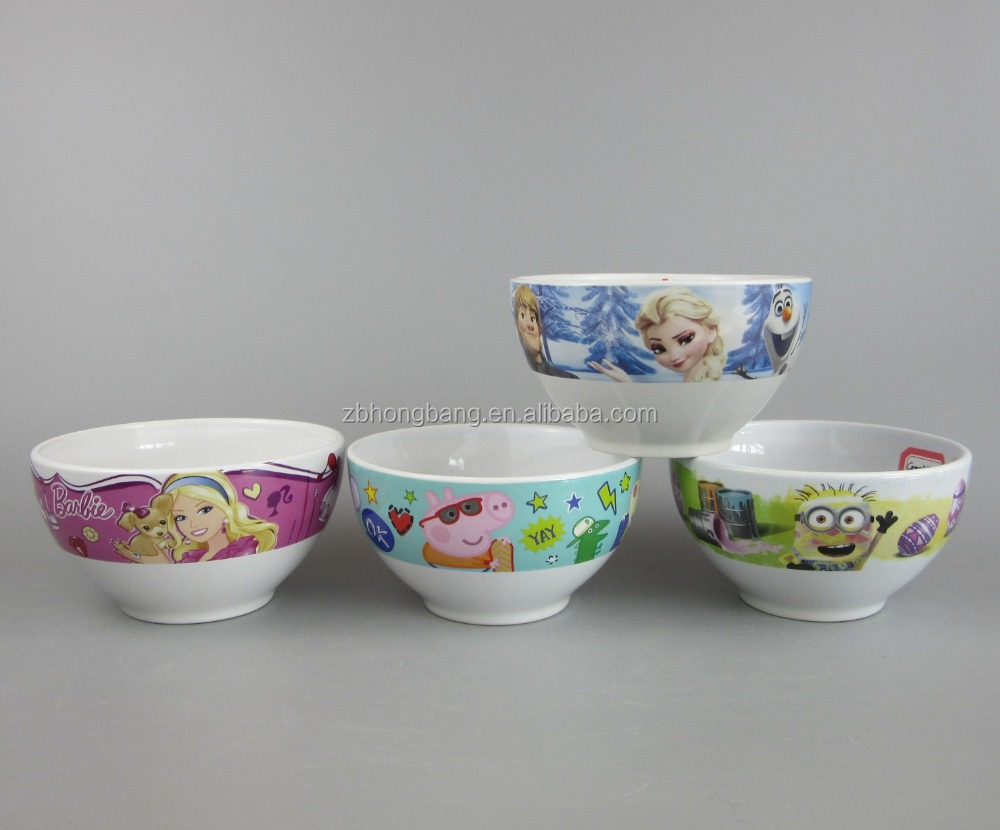 Ceramic Bowl with Customized Full Printing