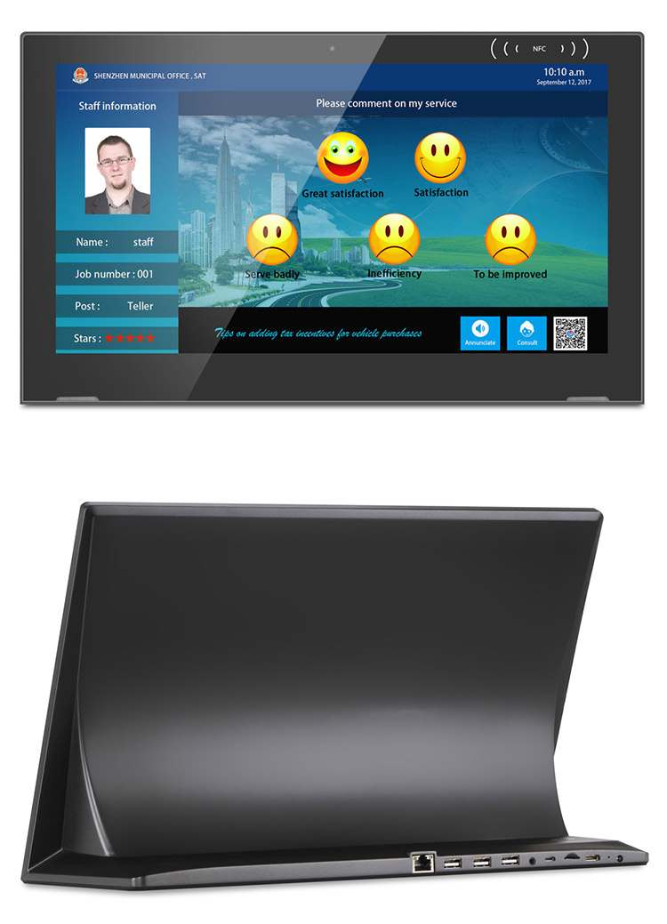 New Quad Core Android Tablet 15 Inch A 7 Touch Screen