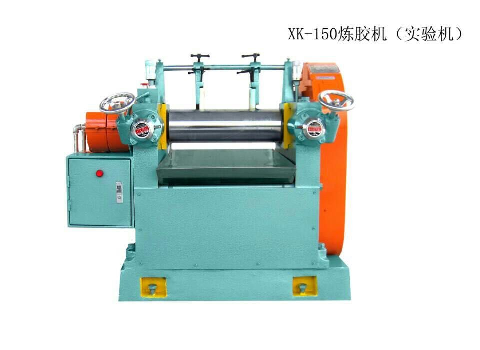Guangzhou Laboratory XK-150 Silicon Rubber Two Roll Mill Machine Price- Ronie Yang