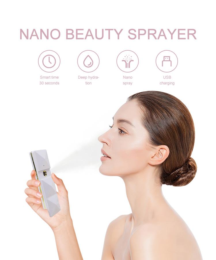 Feuchtigkeitsnebel-Nano-Sauna-Gesichtsbehandlung der koreanischen Gesichtsmaschine der Schönheit