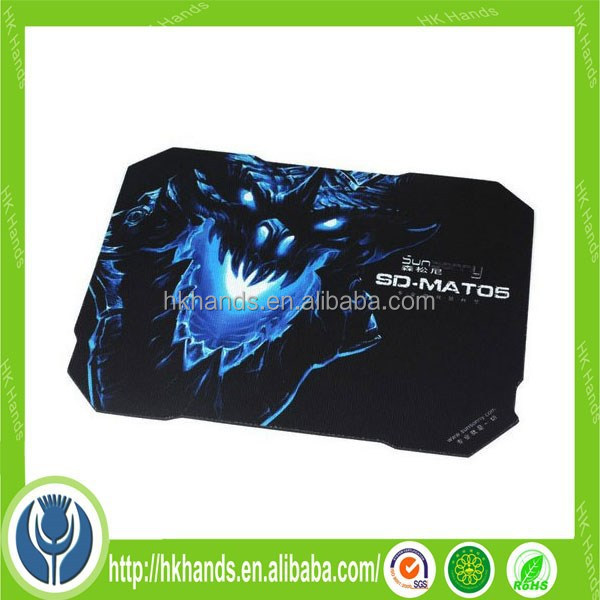 promotional game rubber mouse mat