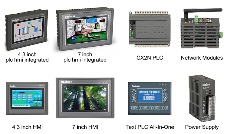 Coolmay Mini Touch Layar HMI Programmable Logic Controller