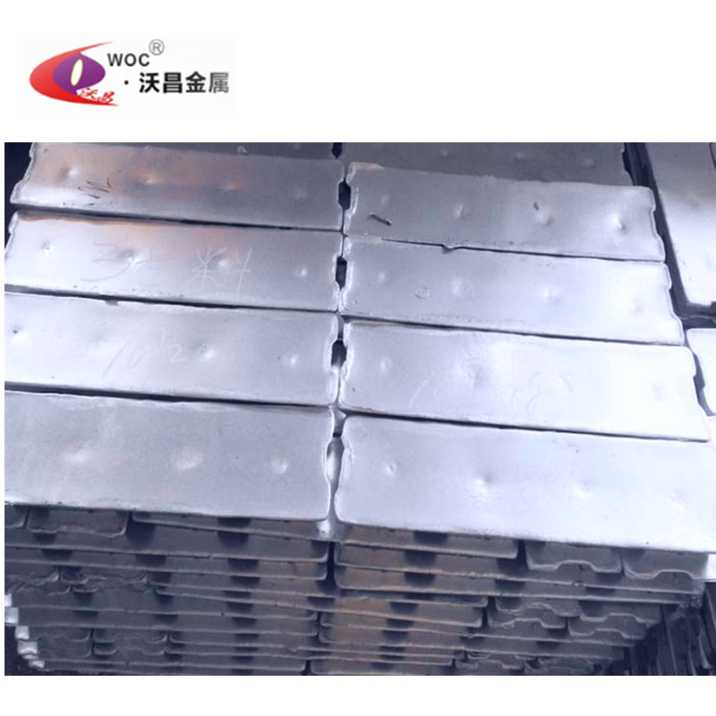Hot sale factory direct zinc alloy metal ingots zamak 5 die-casting