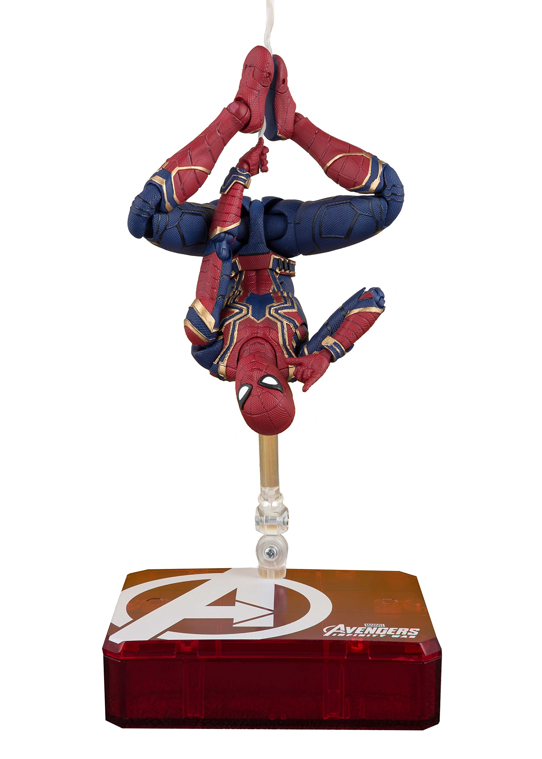 Bandai Tamashii Nations S.H. Figuarts Iron Spider & Tamashii Stage Avengers: Infinity War Action Figure