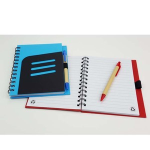 Wholesale ECO Jotter PVC Cover Notebook with Pen