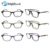 Brightlook Hot sale! shiny colorful frame novelty granny fashion $1 ce wholesale plastic reading glasses