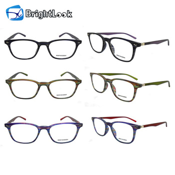Hot sale! shiny colorful frame novelty granny fashion $1 ce wholesale plastic reading glasses
