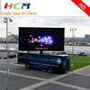 Hot selling outdoor P8mm mobile vehicle/trailer/truck led sign, advertising led moving truck for commercial