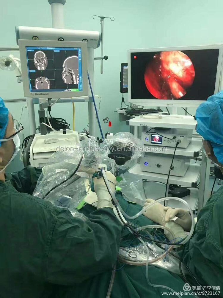 DELON endoscopia 350 W ad alta intensità allo xeno sorgente di luce fredda/endoscopia