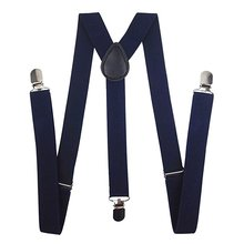 FREE SAMPLE FACTORY PRICE Polyester with Metal Clips Suspender for Men and Women