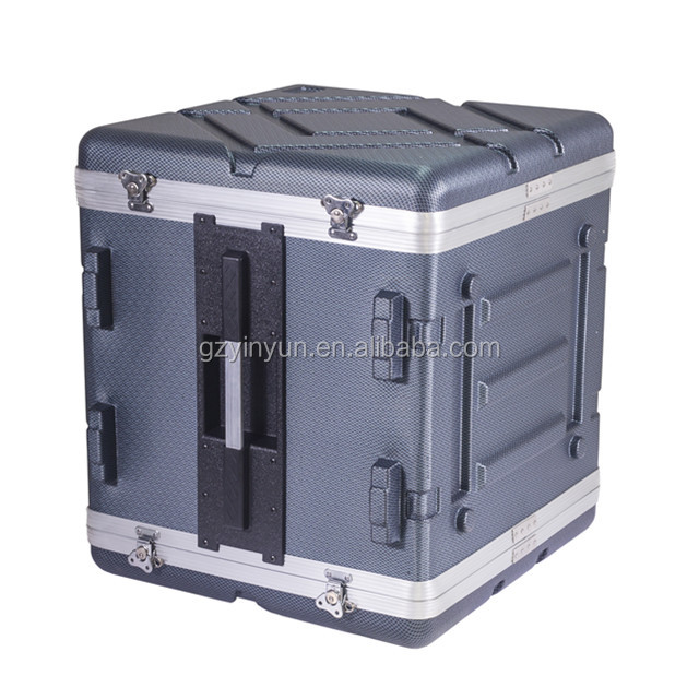 ABS mixer case Draagbare 12U ABS Mixer Flight Case