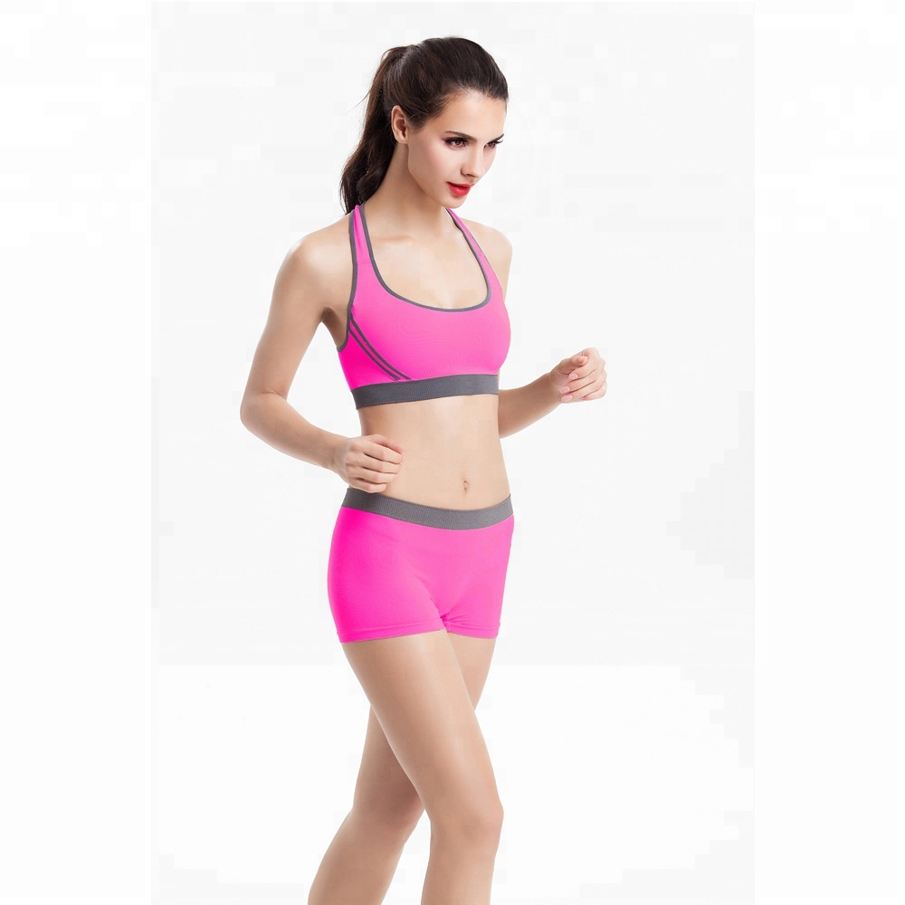 9a509e3bf6 2016 Women Adjustable Nylon spandex Sports Bra Fitness Underwear Yoga  Bralette Running Gym Sexy Dew Back Push Up Shaper Bra