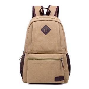 867bca4cc2b2 Get Quotations · New stylish canvas backpacks Korean men and women traveling  mass-backpacks