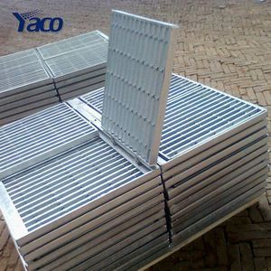 YACHAO steel grating for car wash drain grating, floor trap grating