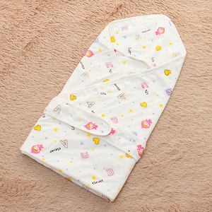 Pretty pattern printed Eco-Friendly cotton / Bamboo hooded baby towel