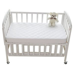 Premium Waterproof Bamboo Quilted Crib Mattress Waterproof Protector