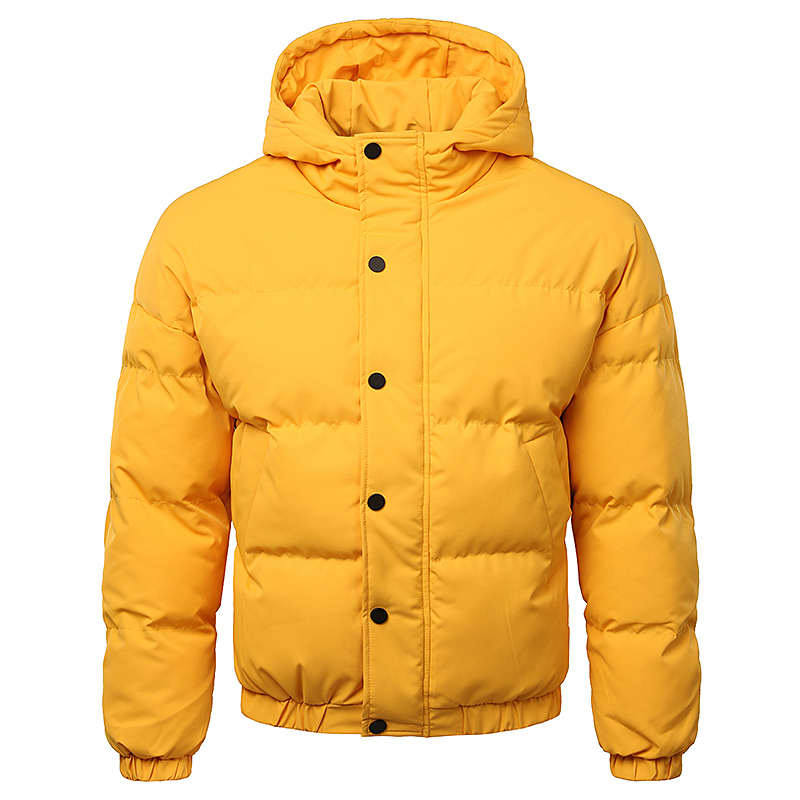 BSCI Factory Polyester Casual Warm Padding Hoody Mens Puffer Coat фото