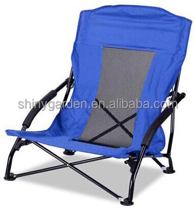 Bimart Lightweight Folding Beach Chair Low Cheap Chairs