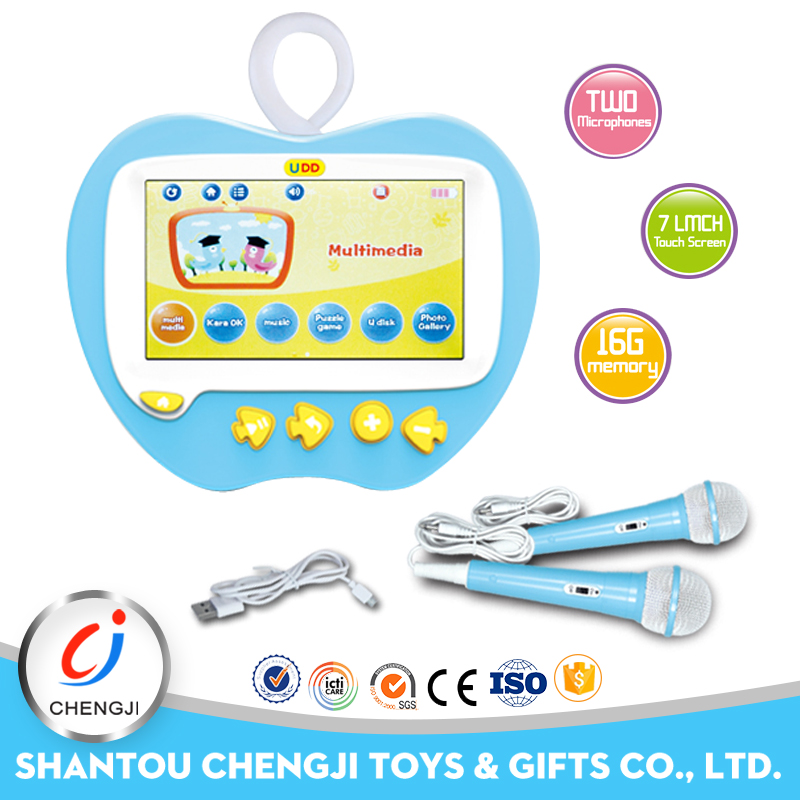 Hot sell educational toy kids laptop learning machine with music