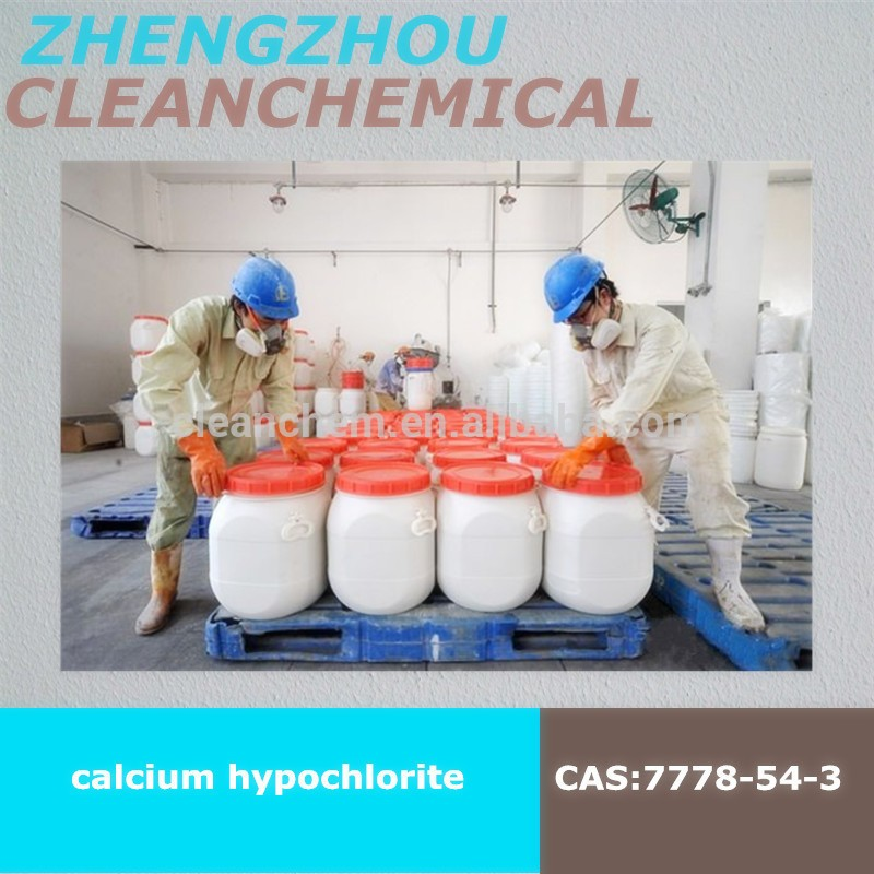 Calcium hypochlorite oxychloride by sodium process biggest manufacturer