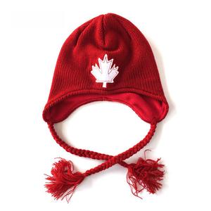 3d94ea175 ear flap fleece lined sherpa peruvian chullo hat