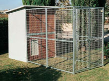 Portable Outdoor Dog Run Kennel Temporary Dog Kennel Fencing