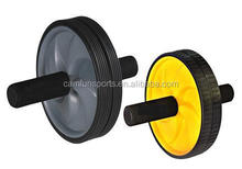 1 color handle Dual Ab Roller Wheel Abdominal Exercise Wheel