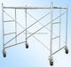 1219*1930 painted &galvanized Steel tubular Frame Scaffolding System with caster