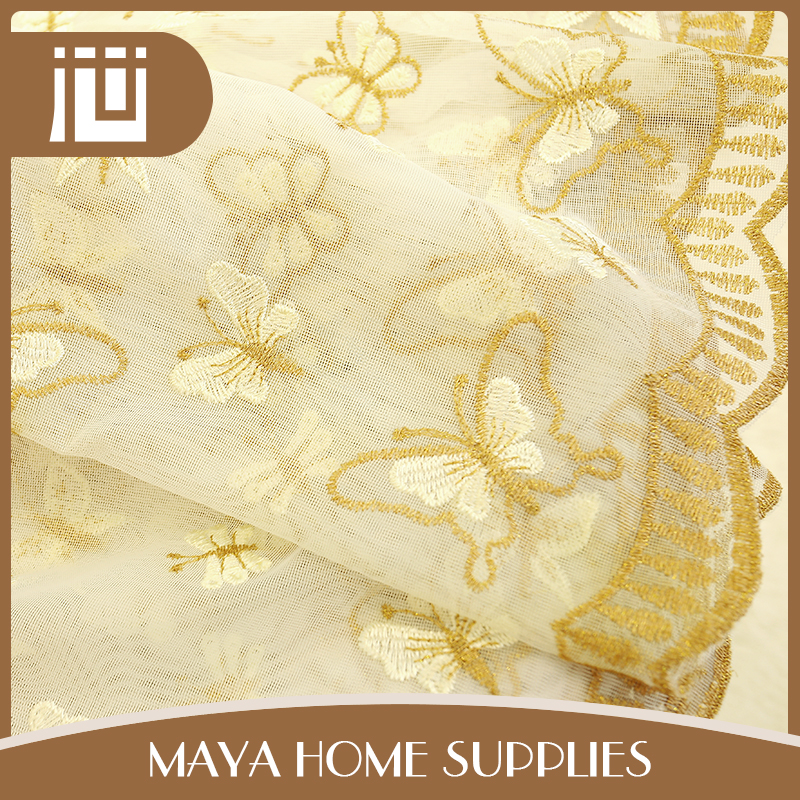 New style customized eco-friendly cheap dubai curtain fabric for home textile