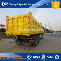 10 Wheeler HOWO Heavy Duty 30-40Tons Dump Truck Big Capacity Tipper Truck For Sale