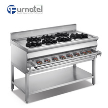 Restaurant Industrial 1200 Asian Cooking Gas Range A Serie With Stand