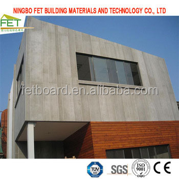Exterior and Interior 2400*1200 Fiber Concrete Board