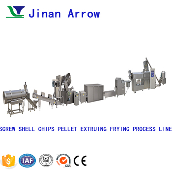 Electric Compound Frying Potato Chips Machine Price